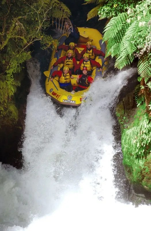 Kaituna River Rafting Down the highest commercially raftable waterfall