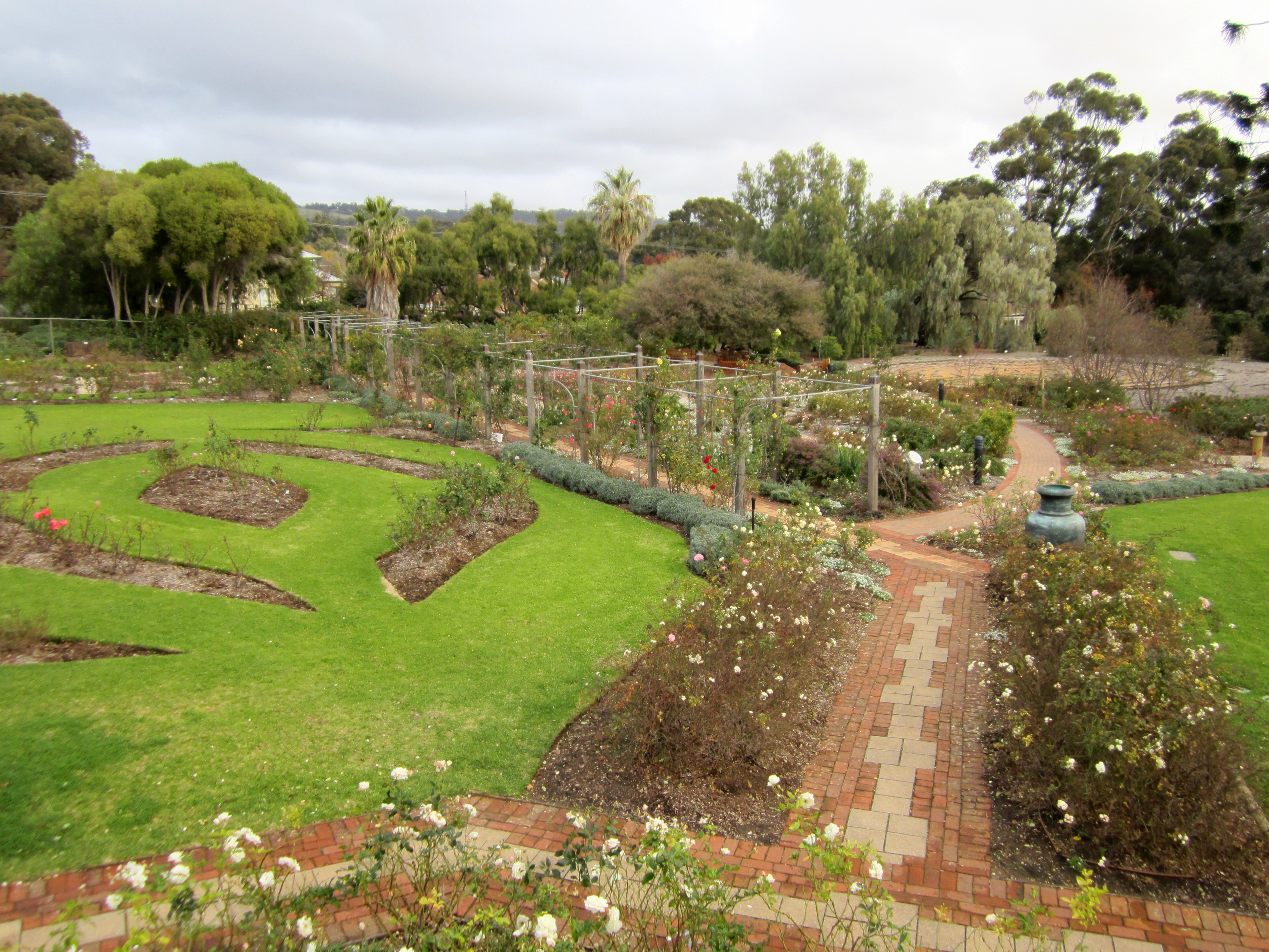 The Planned Gardens Overlooked by Urrbrae House