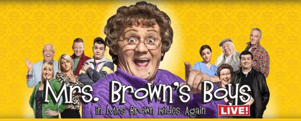 Be Part of the Studio Audience for Mrs. Brown's Boys ...