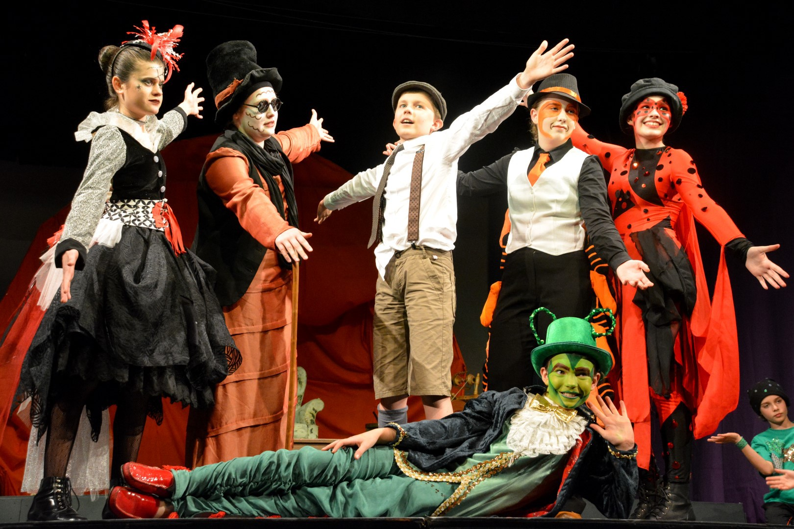 James And The Giant Peach At Stirling Community Theatre