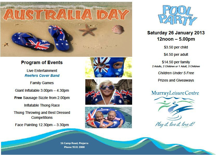 australia day invitations | Invitationjdi.co