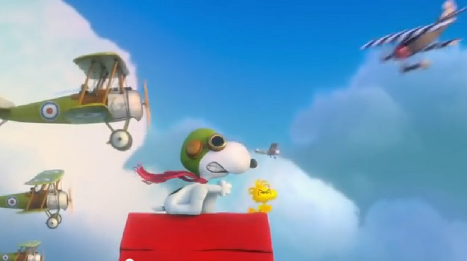 Snoopy And Charlie Brown The Peanuts Movie Film Review