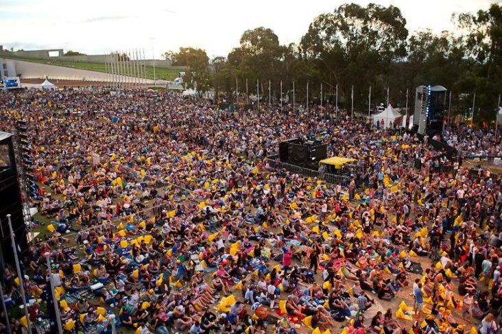 Image result for Australia day events Canberra