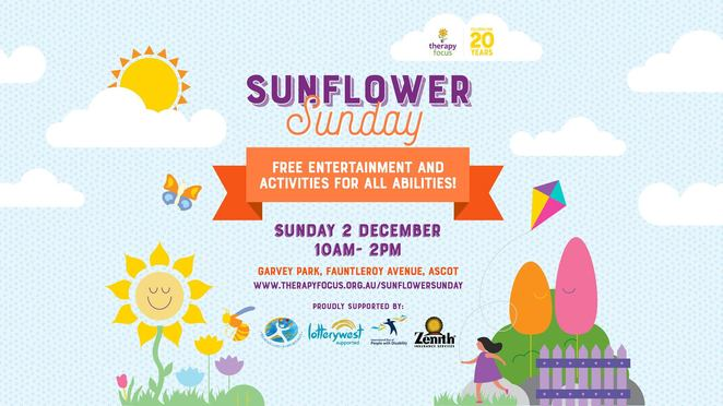 Sunflower Sunday FREE Family Fun Day Perth