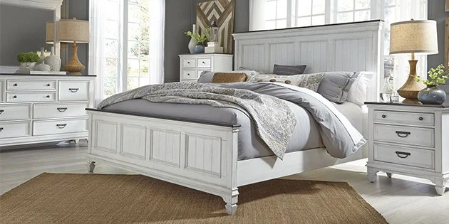 If you want a white bedroom set, for example, find the styles you like, and if they have white furniture finishes, they're most likely going to coordinate beautifully. Weekends Only Furniture Stores Weekends Only Furniture