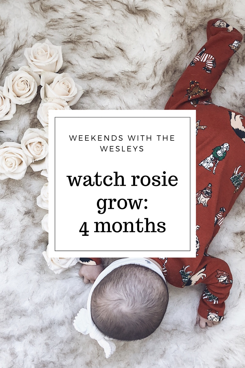 WATCH ROSIE GROW: Four Months with Rosie