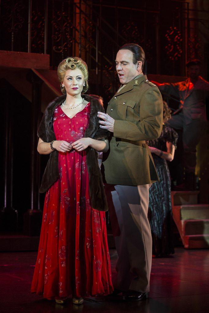Evita at the New Theatre, Oxford