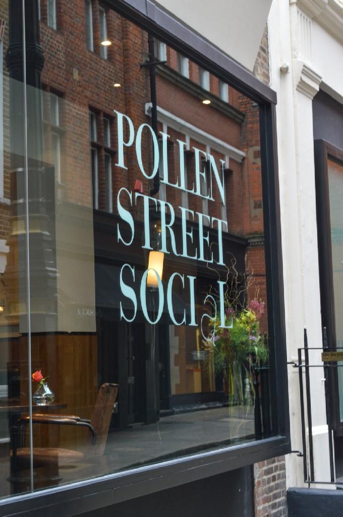 Pollen Street Social set menu