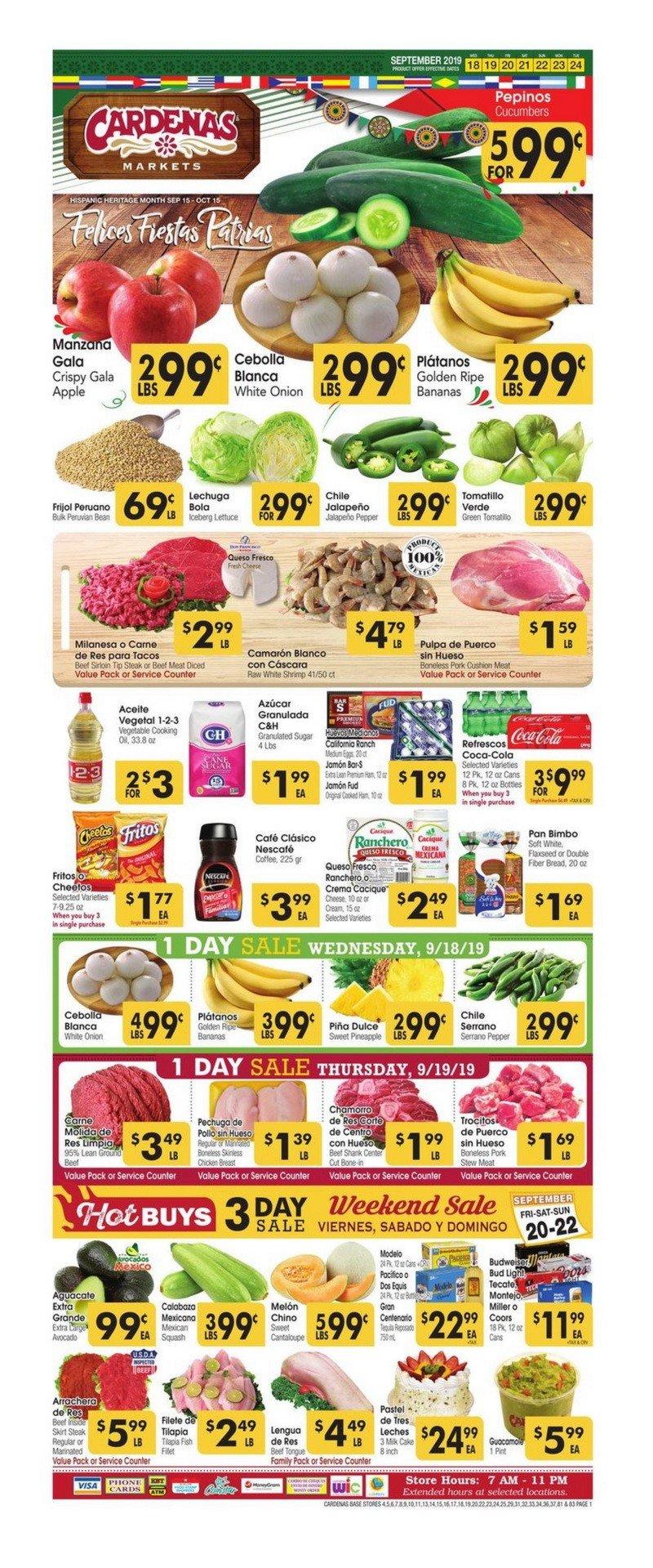 Fresh Food Ranch Market Weekly Ad