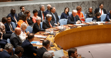 Chairing UN Security Council meeting, Trump calls out Iran