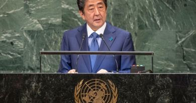 Japanese Prime Minister defends free trade