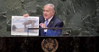 Netanyahu reveals hidden Iranian nuclear site, secret Lebanon missiles