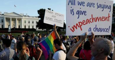 Ban on protests around the White House tabled