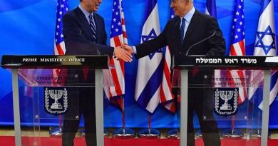 Netanyahu meets US Treasury Secretary Steven Mnuchin