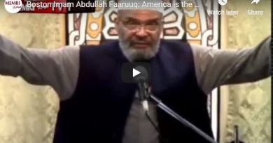 "Boston Imam terms America as ""land of the coward"" and the ""home of the slave"""