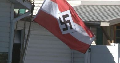 Flying Nazi flag is no freedom of expression, it is humiliating Jews