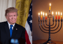 US President wishes Jews a happy Hanukkah, pledges to fight anti-Semitism