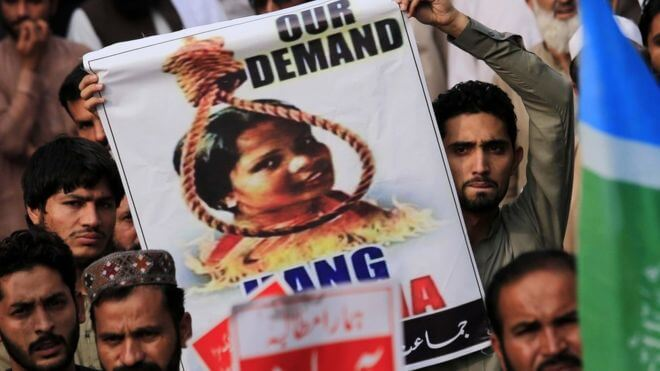 Pakistan puts Asia Bibi in 'no fly' list