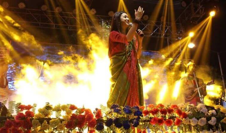Nightingale of Bangla folk Poushali Banerjee coming to Bangladesh