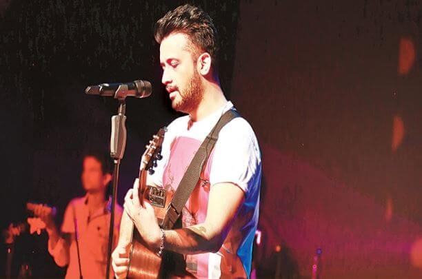 Up in the sky with Atif Aslam