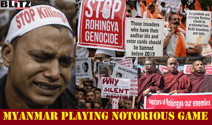 By keeping Rohingya issue unresolved, Myanmar is inciting