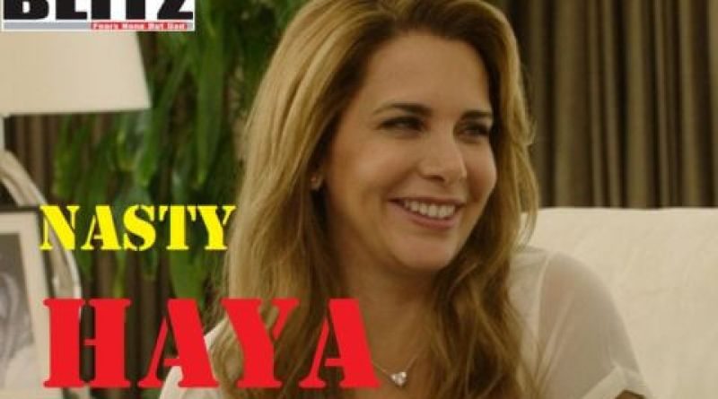 Princess Haya was caught red-handed in the bedroom with her British