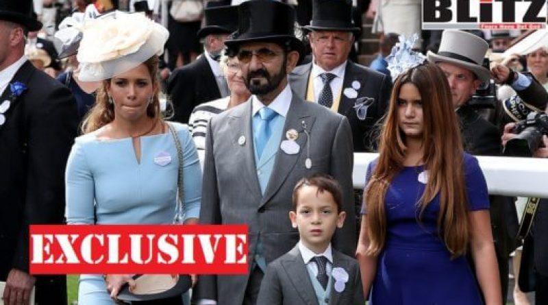 Who fathered Princess Haya's son? - Blitz