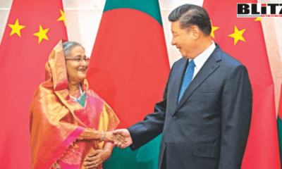 Bangladesh, Sheikh Hasina, China, South Asia, President Xi Jinping, Rohingya