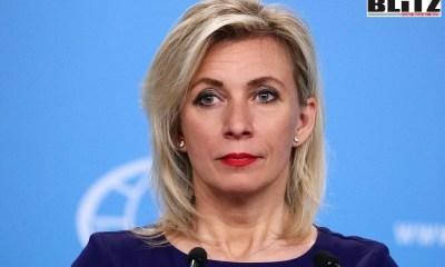 Russian Foreign Ministry Spokeswoman, Maria Zakharova, Russian