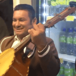 Mariachi Band + Grocery Store = Good times!