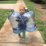 Never carry water jugs again