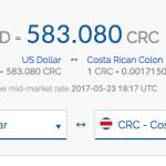 U.S. Dollar goes further in Costa Rica
