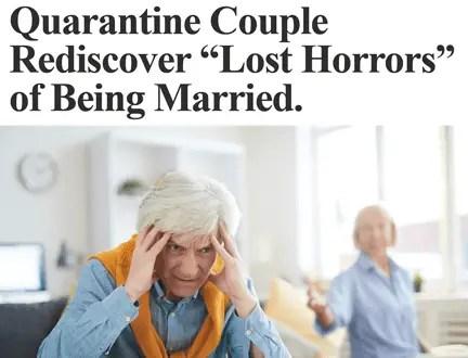 News Briefs: Marriage