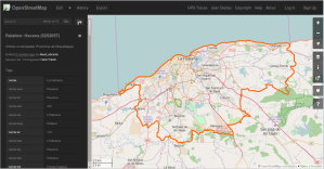 Screenshot de OpenStreetMap Dark Theme de Greasemonkey