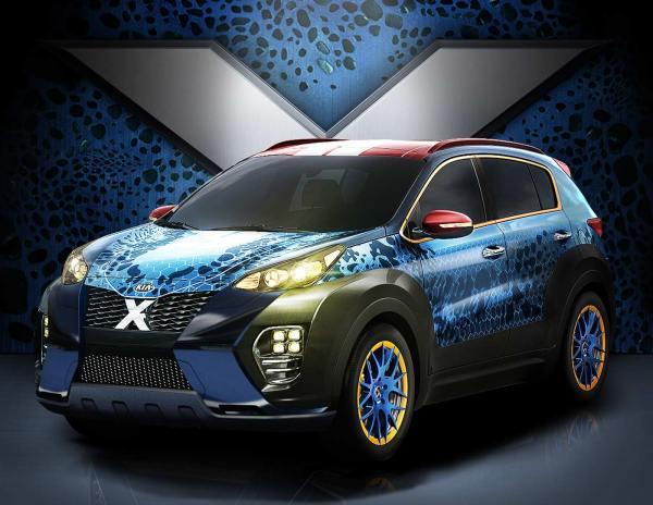 El nuevo Kia X Car, antecesor de la próxima película: X ...