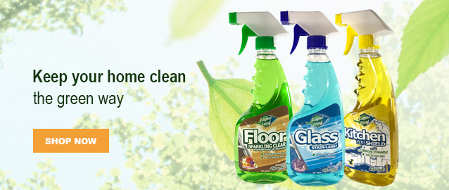 Weelago - Liquileaf Floor Cleaner, Glass Cleaner, Kitchen Cleaner