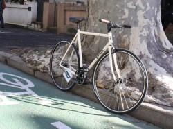 Le Surly de Stephan, cycliste urbain à Sydney