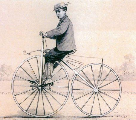 La Michaudine, un français aux origines du vélo moderne