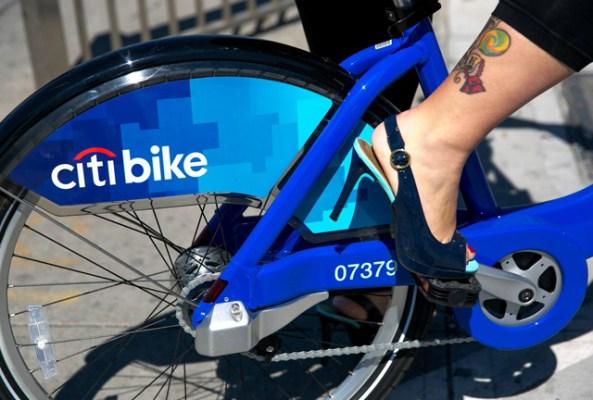 New-York, le Citi bike est enfin lancé
