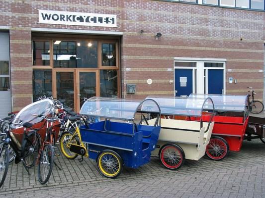 Workcycles, l'essence même du vélo utilitaire
