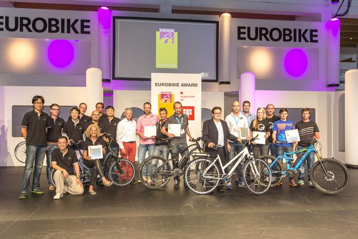 Eurobike Awards 2013, les produits récompensés