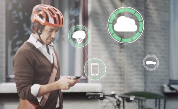 POC, Volvo et Ericsson pour un concept de casque connecté anti-collision