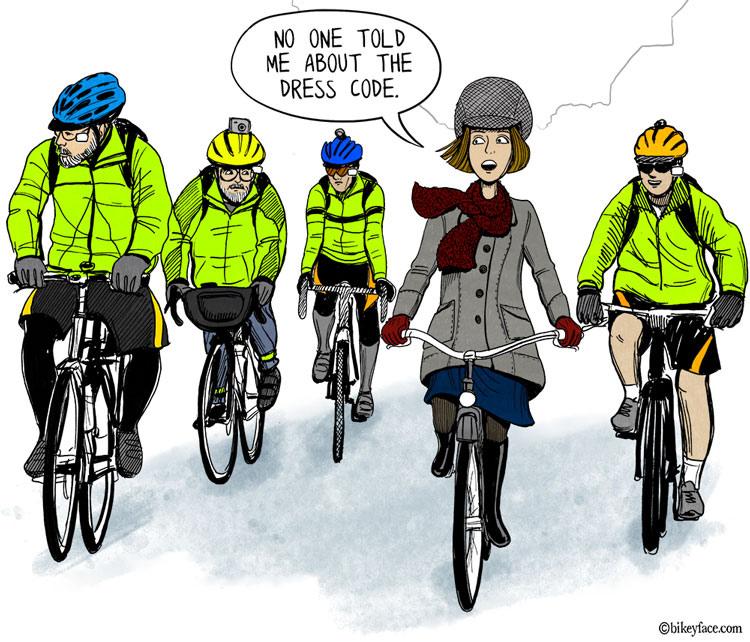 BikeyFace, promouvoir le déplacement à vélo par le dessin