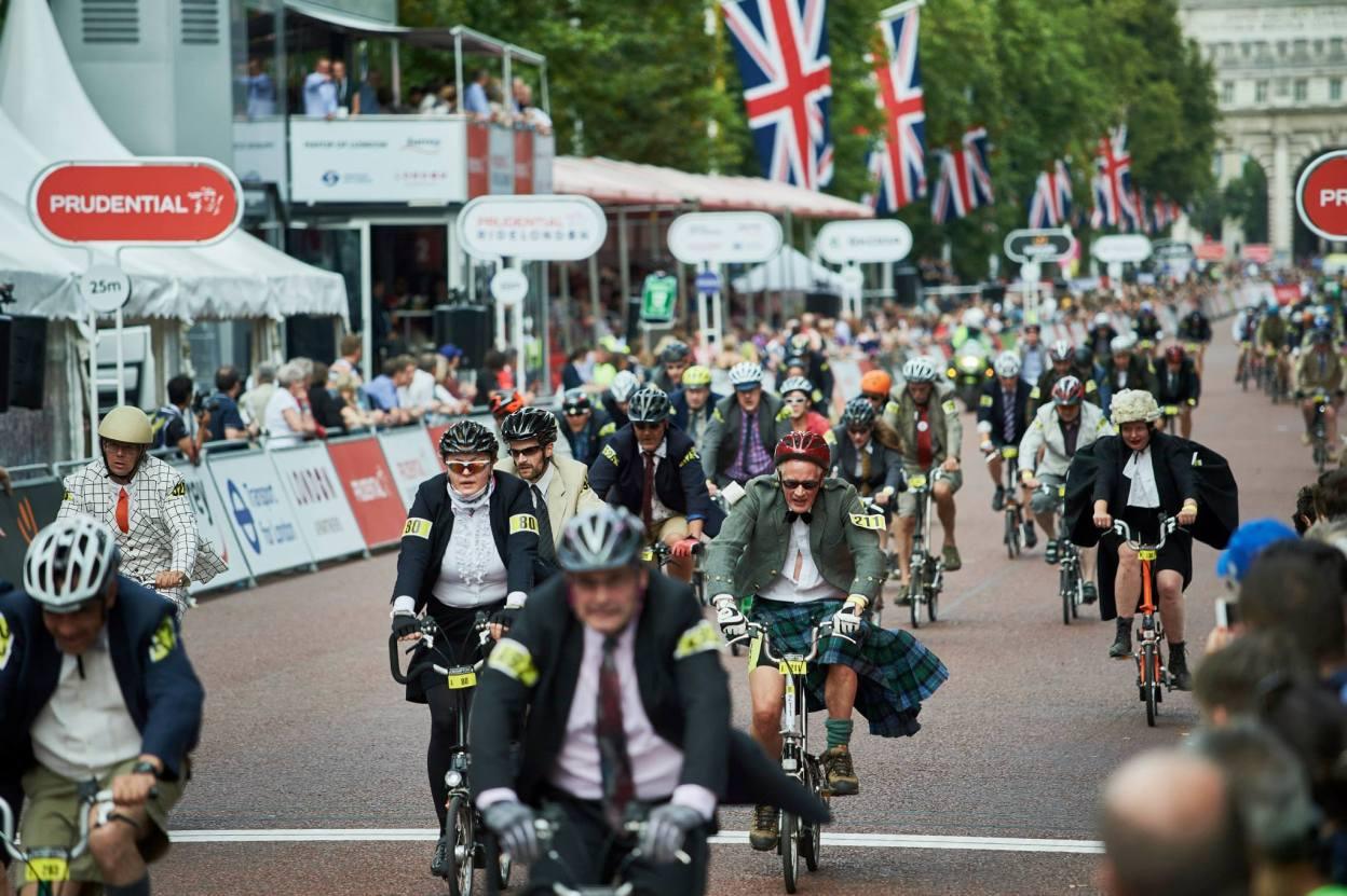 Londres, championnat du monde Brompton 2015