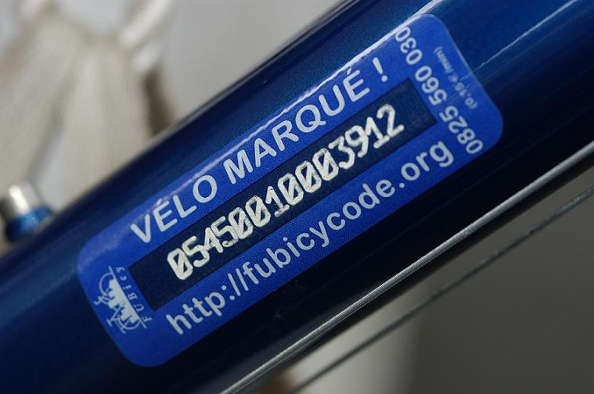 Bicycode : évitez un vélo volé avec un vélo marqué !