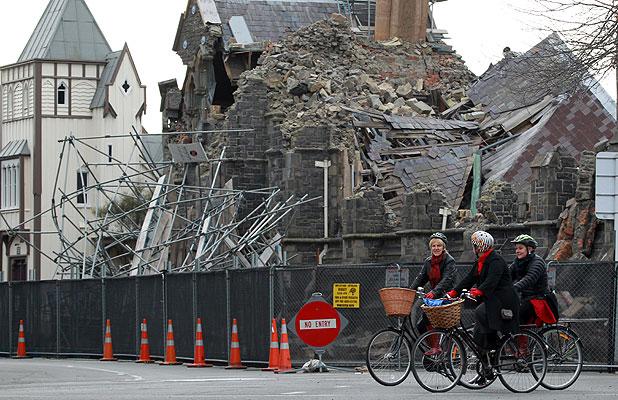 Christchurch, une nouvelle ville cyclable après le tremblement de terre