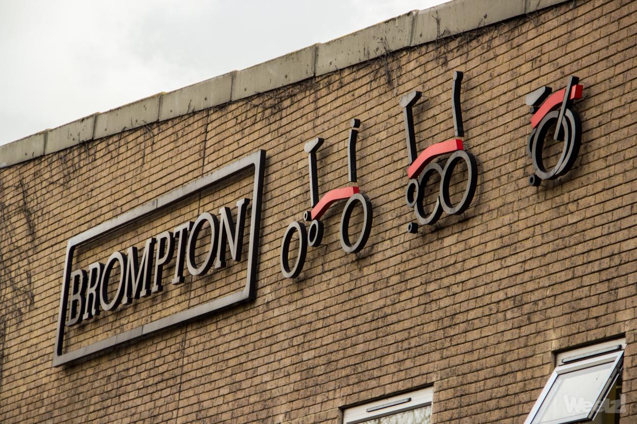 Visite de l'usine historique Brompton à Brentford