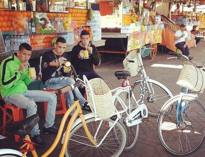 Pikala, le vélo et l'économie solidaire et circulaire à Marrakech