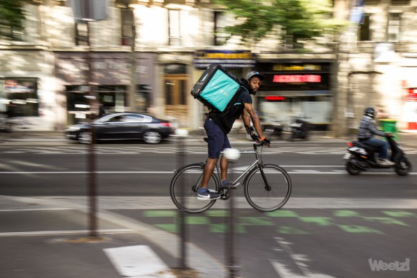 Deliveroo prouve qu'en ville, le vélo va toujours plus vite