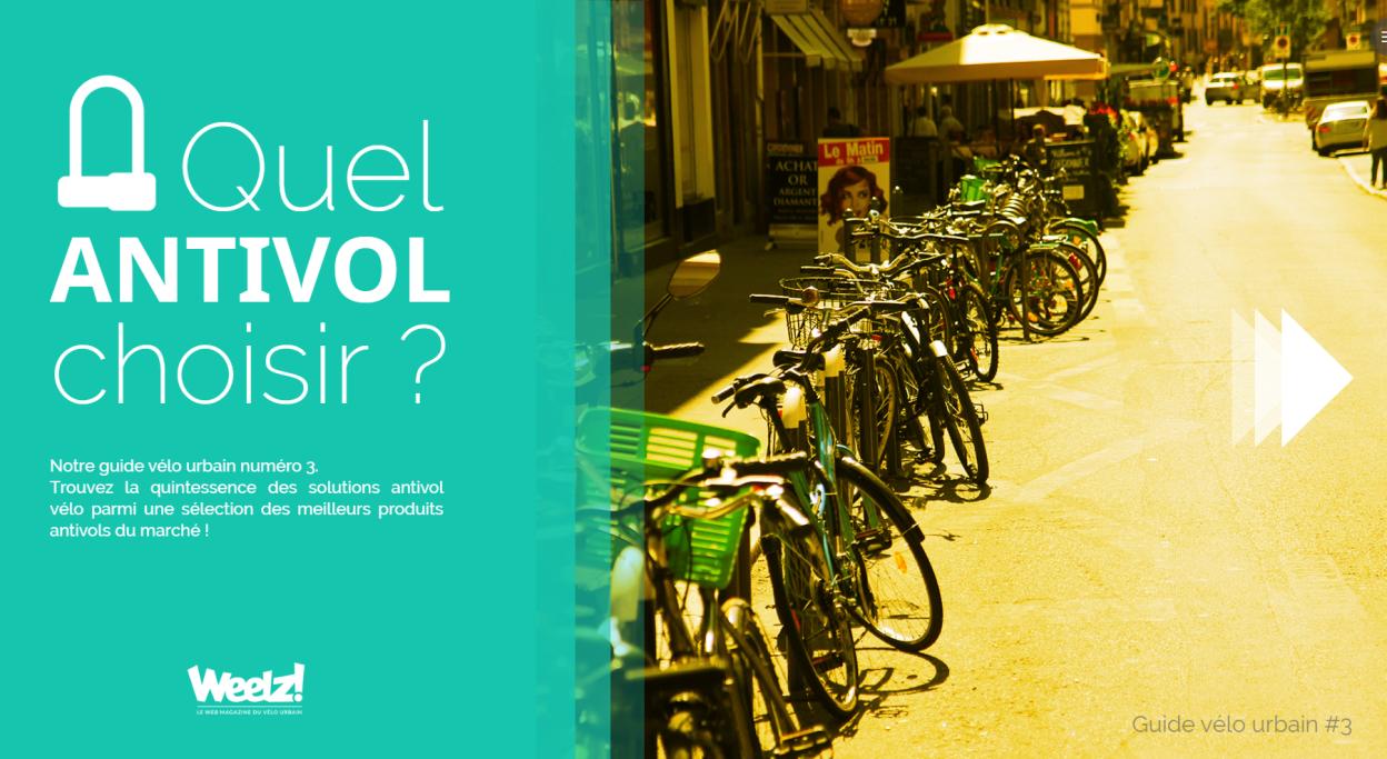 Choisir un antivol vélo, le guide d'achat 2017